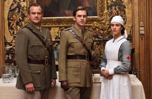 Lord Grantham, Mathew Crawley and Lady Sybil