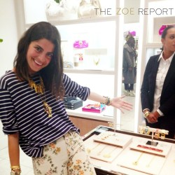 We spent last night with @manrepeller celebrating @coach's latest collab! Check out today's AccessZOEries story for more! (Taken with instagram)