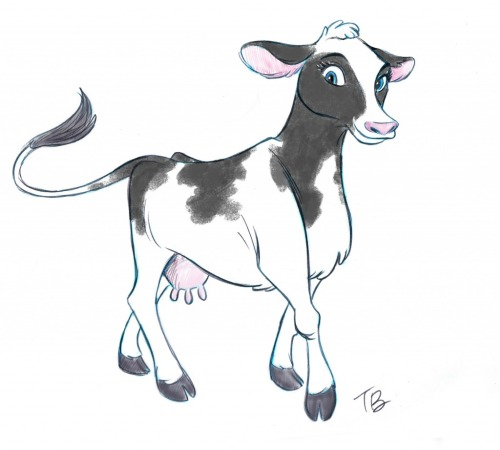 Barbie cow