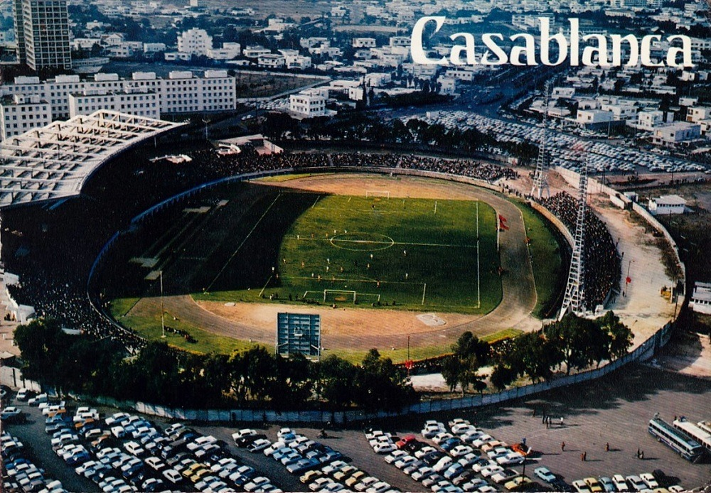 Stade d'HonneurCasablanca, MoroccoSource: Postcard, published 1960's