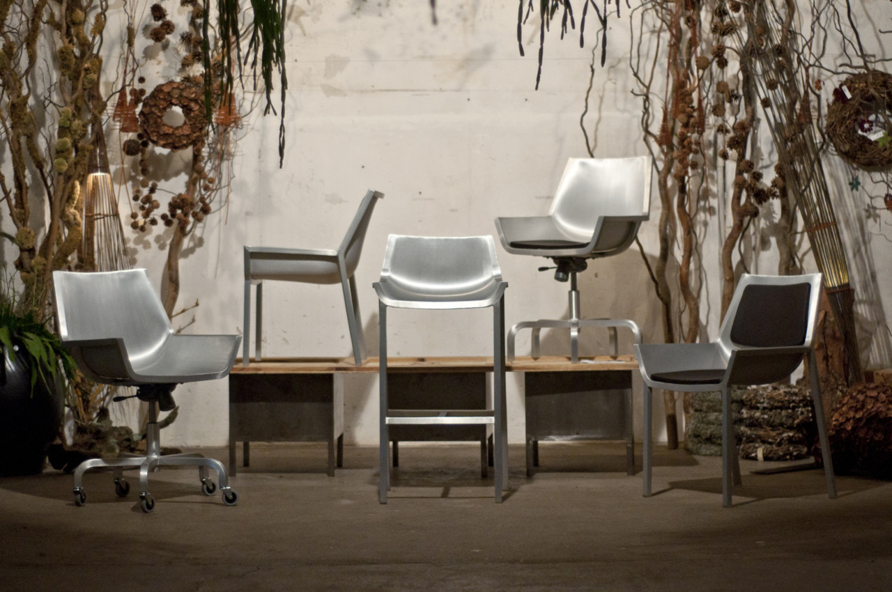 Pleased to present the new to the world Sezz Collection by Emeco with Christophe Pillet. Successfully launched in the beautiful garden setting, with a winter fest at The Galerie Végetale in Paris. For all press request please email lia@emeco.net.