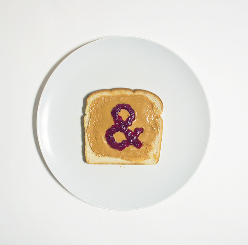 typeverything:  Typeverything.com - Peanut Butter & Jelly (by David Schwen)