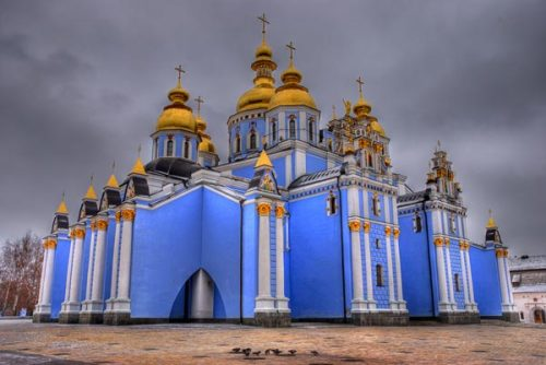 fromeuropewithlove:  St. Michael's Golden Dome Monastery, Kiev, Ukraine  I wish I had had the opportunity to learn about Ukraine from my great grandma <3.