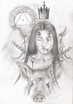 Ab uno disce omnes. Pencil on paper. January 2011.