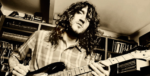 "John Frusciante on music  ""Music isn't the Olympics. It's not about showing other people what you can do with a piece of wood in your hands that has strings on, it's about making sounds that are good.""  ""In music you have people exposing this very vulnerable part of themselves, and you also have the lifestyle is so fast that oftentimes people search for whatever the easiest way to feel relaxed in the midst of all of it, or the easiest way to have energy."" ""Music is not something that you are in control of. It comes from somewhere else. If you're that middleman between the cosmos and the real world on Earth that the music comes through, you are very lucky. When you record music, it's not your job to try to control anything. It's more about being in the right place and flowing with the energies that are in the air around you and with the people that you are making the music with. The second that someone thinks music comes from themselves, and that they are the ones responsible for it, is when they go off track. The most important thing you could realize is that you are the least important part of the whole process. Music is going to be made whether any one artist is here or not. If John Lennon or Jimi Hendrix had disappeared, music still would have gone on, changed, grown, and been the beautiful thing that it is. You take away the music, all you have are the individuals, and they don't mean anything. The individual is nothing, it's the music that's in the air all the time that's important, and you have to be humble in the face of that."" ""Music is my friend, no matter where I go."" ""You can say things with music that there's no way to say with words. The meaning is much more than anyone can say with words. The reason for that is that music plays directly to our subconscious. We feel what we feel when we listen to music because it's playing with our subconscious."" ""At the end of the day when I sit down after doing everything that I need to do for the day, and I sit there in front of my speakers and I listen to some beautiful music, it puts everything in place, and I feel like the whole world is perfect. That is not stupid. That is the most important part of my day. It doesn't matter what I've accomplished that day, or shit, how much money I've made that day, or anything like that doesn't mean anything. What matters is at the end of the day where I can sit there, put on a Velvet Underground record, and the world is perfect, nothing is wrong with it. Everything is exactly the way it is supposed to be. That's how I feel when I hear music, and that's how it's been my whole life."" ""We are all very lucky to live in a world where there is this much music."""