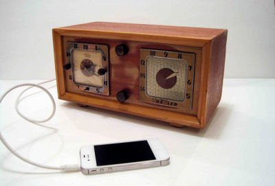 Old-school radios that play new-school MP3s