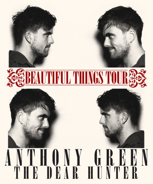 Hey New Yorkers! Did any of you have the pleasure of seeing Anthony Green and The Dear Hunter at Bowery last night? PV was there and we were blown away. So much so, that we've compiled a list of five reasons why everybody should see these guys perform live!
