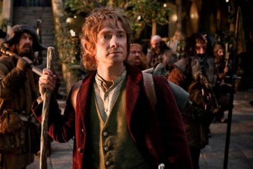 Martin Freeman⇒The Hobbit promotional photoCredit goes to Martinfreemanonline