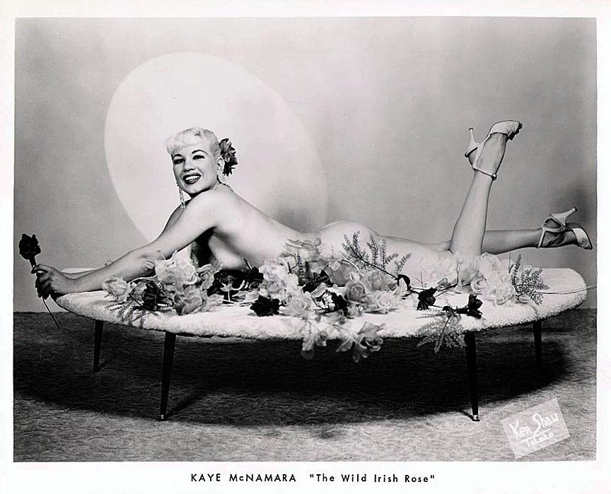 """Kaye McNamara aka. """"The Wild Irish Rose"""".."""