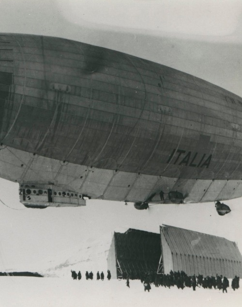 xplanes:  The Airship Italia, 1924-1928 (via)