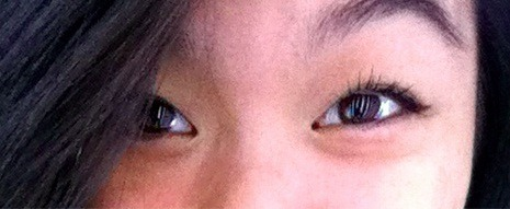 WHOA. i like my eyelashes today….0.0