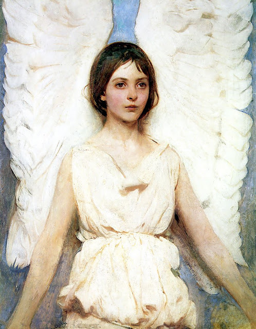girdleofvenus:  Angel//Abbott Handerson Thayer