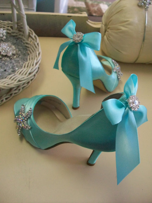 Blue Beach Wedding Shoes .http://www.etsy.com/listing/82783747/blue-shoes-beach-wedding-tiffany-blue