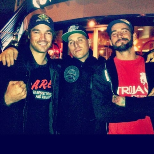 chicanohardcore:  This picture is awesome. Three awesome dudes.  (Taken with instagram)