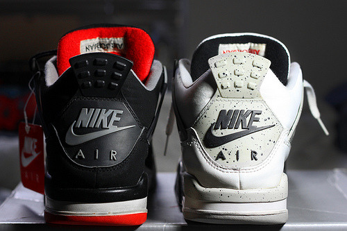 theantiheroes:  Breds Vs. White Cements…Which one are you going with? Personally, I can't decide, both are so necessary. -Rhay.