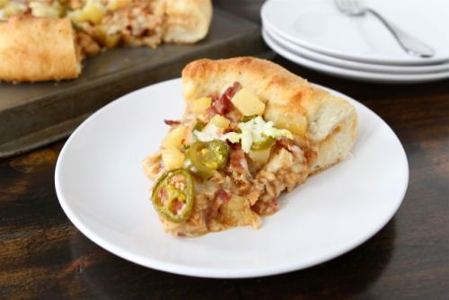 BBQ Chicken Deluxe Pan Pizza click image for recipe