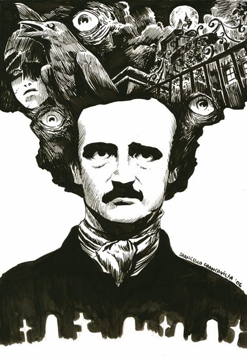Poe by Francesco Francavilla