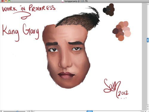 Work In Progress Kang Gary I think I've really improved with these last two drawings compared to my previous posts :D  I think I finally got a hang on this program and my tablet!  And practice of course lol. ♥
