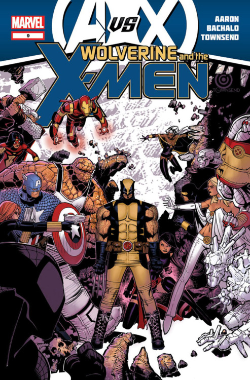 amazingxmen:  Cover to Wolverine and the X-Men #9