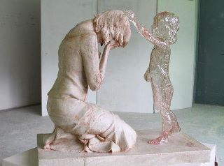 "stfuhypocrisy:  carolinam103093:  Monument to the unborn child…..  What a giant heap of shit this is. Ok, here's the thing, if people are that emotional and guilt-stricken over having an abortion, chances are, it's something they didn't want to do in the first place. So again, I've said this once, I'll say it again, just because some people regret their abortions, doesn't mean it should be illegal. That's just as ridiculous as saying that because people regret having kids, everyone should be sterilized. Also, who's to say this is a ""pro-life"" monument anyway? Maybe it's just a mother grieving the death of their toddler, or 4 or 5 year old. Why does the antichoice movement always have to skew shit into being some ""prolife"" propaganda?  I look at it this way - If we lived in a world where abortion was just as acceptable an outcome as birth, people would still make choices they regretted. That's how it is when we get to make our own decisions. Some people may not regret it, but would still mourn or wonder about what could have been. I think this sculpture could be appreciated in that way, so at first glance, I think it's fine. That said, we don't live in that world, and I don't think it's right to use these people's hurt to take away an important option for others. This sculpture was made by Martin Hudáčeka in Bardejobská Nová Ves, Slovakia, entitled ""The Child Who Was Never Born."" From what I can see, it was commissioned by a group of young, pro-life mothers. I don't know if any of them had actually had abortions, and the little information I can find on it suggests it was intended as pro-life propaganda of sorts:  The idea to build a memorial to unborn children came community of young  women, mothers who are deeply aware of the value of each human life and  damage that is inflicted not only a waste of potential unborn children,  but also permanent damage intellectual (sometimes physical) health of  every woman who chooses to her unborn child conceived.  It's the ""every woman"" bit, y'know. So, yeah, we don't live in that world. People still use others' anguish to demonize a procedure that millions of people have had, the majority of whom suffered no ill effects. There should be help for people who feel bad. There should be a place for them to go. But, to suggest that their experience is universal is naive and willfully ignorant. It's a shame that such a lovely sculpture is being used in that way."