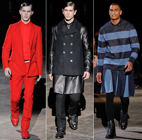 First Look: Givenchy Fall 2012 See the full Givenchy Fall 2012 men's collection from Paris right now at GQ.com.