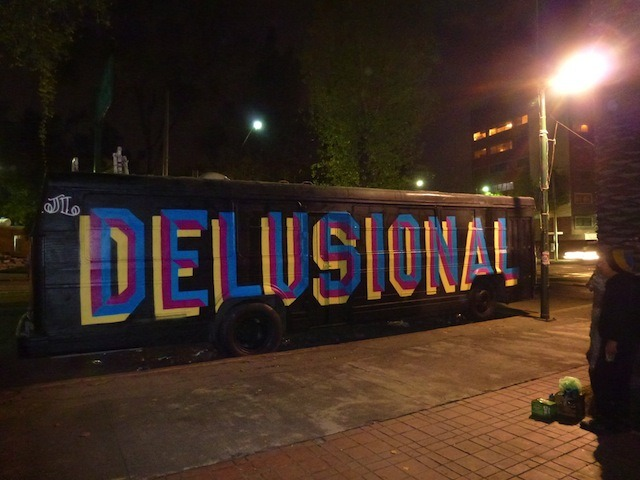 Eine in Mexico City. Thanks to Vandalog for the heads up.