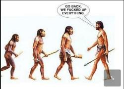 A new take on evolution…