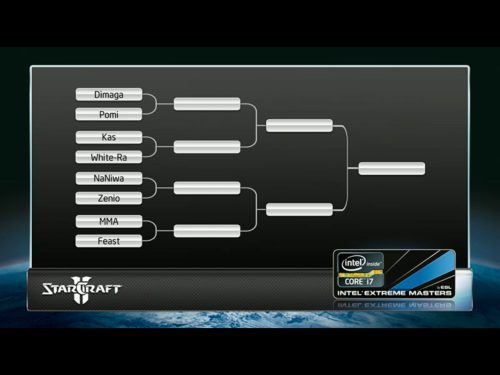 IEM round of 8 for Starcraft