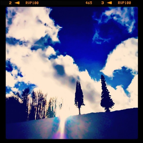 kdengs:  Last run of the day. #parkcity #sundance  (Taken with instagram)