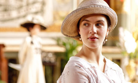 Lady Sybil played by Jessica Brown-Findlay