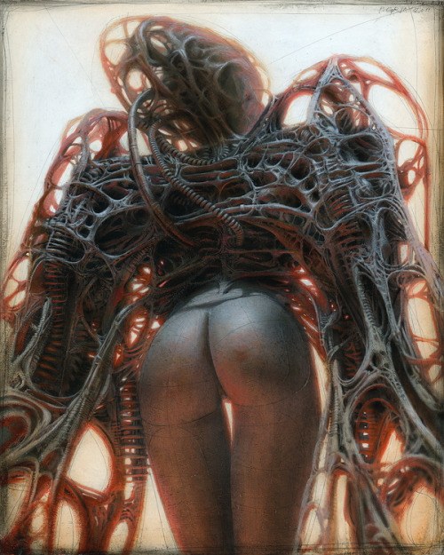 beinArt:  E Gynoid Angel Peter Gric