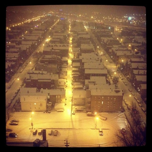 #chicago #snow  (Taken with instagram)