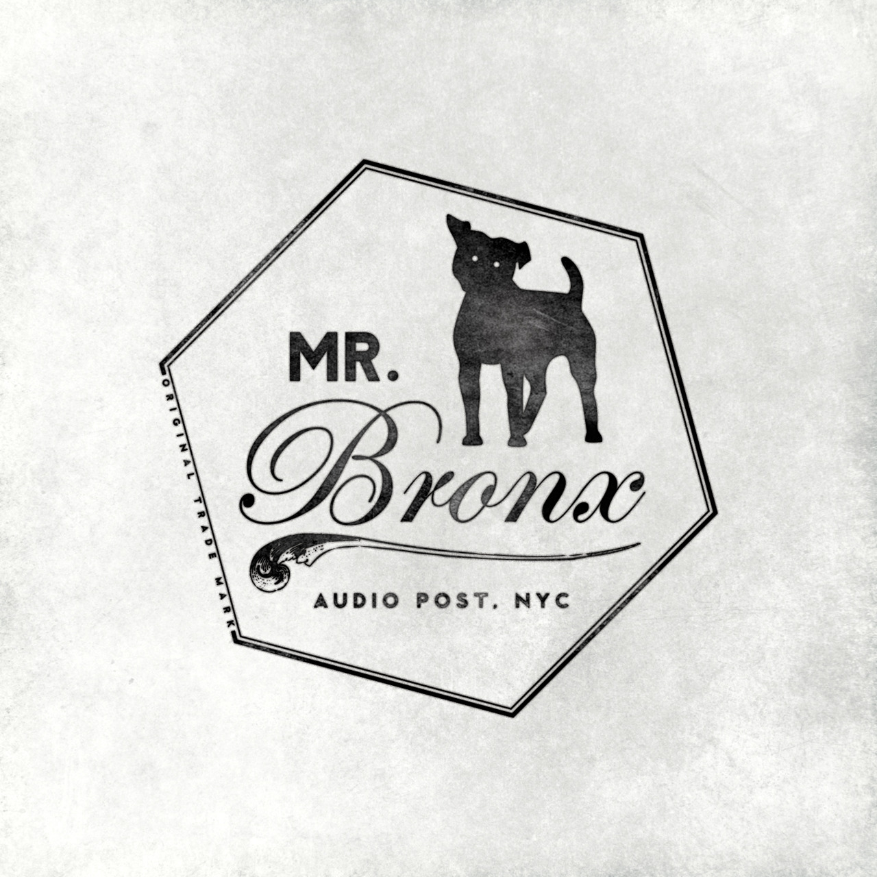 The finished Mr. Bronx Logo that Adam and I designed together.
