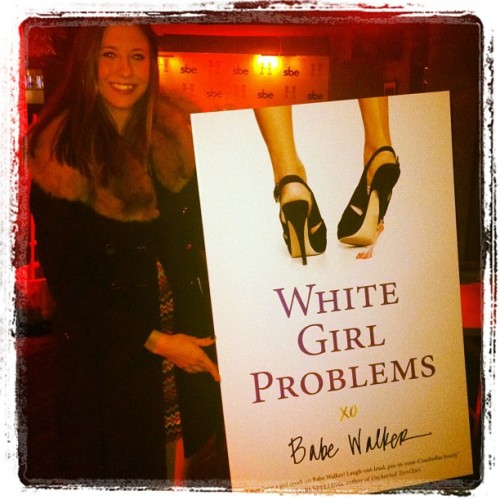 @larzmarie prepping for @whitegrlproblem book launch party at Hyde #sundance . So proud!  (Taken with instagram)