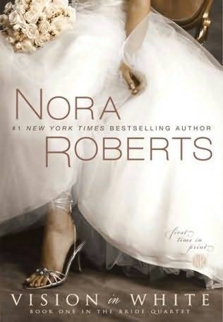 Vision in White, by Nora Roberts So where have I been? Well, I'm still not over Lothaire. Not by a long shot. I tried to ease back into the post-Lothaire world with another installment of the Fever series by Karen Marie Moning (saving my thoughts for the end of the series), and then I took a good long look at this blog and tried to figure out what I was missing. It was pretty glaring. I hardly ever read contemporary romance, and after all of your recommendations a few days ago, it seemed like a good time to pick it back up. Well, if you're looking for a contemporary romance, you could do a lot worse. If you're the kind of person who loooooooves weddings and you just got engaged and your whole life is bridal magazines and watching Bridezillas and you want to share your excitement but your friends have told you they don't want to hear anything else about your fucking wedding (… not that I've been there or anything), then you can't do a lot better. I'm about somewhere in the middle. My wedding mania passed pretty soon after my own wedding three years ago, but I figured Nora was, at the very least, a safe bet. I knew it wouldn't be bad, and it wasn't. Let's put my eh on hold for a minute and talk about the leads, because the dude is one of the strongest parts of this story. THE GIRL: Mackenzie Elliot, photog extraordinaire, who is one quarter of the wedding business powerhouse known as Vows. Parker, Emma, and Laurel handle planning, flowers, and cakes, respectively, and they are DEAD SERIOUS about making your special fucking day pretty fucking special so bend over and get ready for a white lace enema. And I gotta pause here, and say something that's been bothering me about Nora: Nora Roberts has terrible taste in art. Sorry. This book wasn't as egregiously offensive to taste as the last book of the Chesapeake Bay series, what with the Thomas Kinkaide nightmares, but Mac's artsy ideas for the wedding photos were enough to make me die a little inside. The groom likes music, so you have him bring his guitar to the engagement shoot? REALLY FUCKING ORIGINAL. And don't even get me started on the portrait that involved horses. Anyways. Moving on. THE GUY: Carter Maguire, geeky English teacher, beta male (who still fucks like an animal), and all-around sweet guy. He's so cute and awkward and even though I normally can't get enough of alpha dudes (oh, Lothaire), I found Carter to be a great change of pace and he was easily the best thing about this book. In the end, Vision in White was pretty good, but not really all that compelling. Everything is always perfect at Vows, and if it's not, it gets handled quickly and easily and we move on to the next thing that's perfect. This book wasn't even cotton candy fluff, it was like, the aroma of cotton candy. If you're in the mood for a light read, this is about as airy as it gets. NEXT UP: I bought a Victoria Dahl upon your recommendation, then the Nora Roberts Key of Light trilogy. Also, The Marriage Plot has been lingering in TBR purgatory on my Kindle but will I finally admit to myself I'm not going to read it? STAY TUNED.