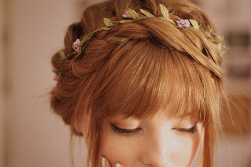 how i'm gonna have my hair done for my sissy's wedding :3