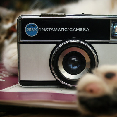 "cameracadets:  255x ""INSTAMATIC"" CAMERA by Der Ohlsen on Flickr."