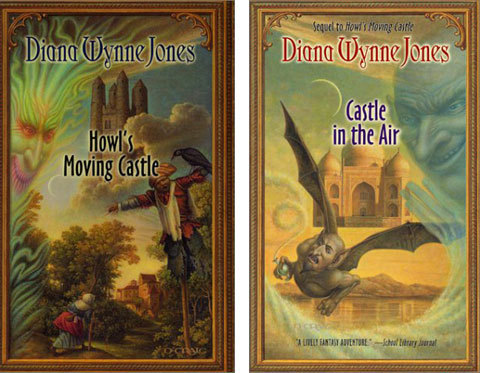 Past Reads-Howl's Moving Castle/Castle In The Air By Diana Wynne Jones  Jones is a master of story-telling. Reading these books felt like sitting at the feet of a bard, like the olden days. Her style is addictive and her stories are full of wonder, humor, and adventure. Also check out The Chronicles of the Chrestomancy.