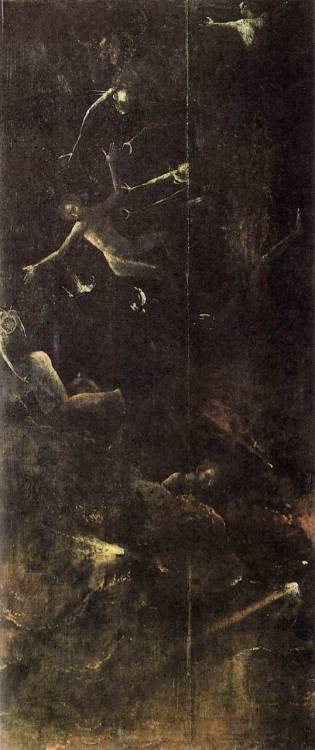 furrow-of-the-gods:  Heronimus Bosch Fall of the Damned