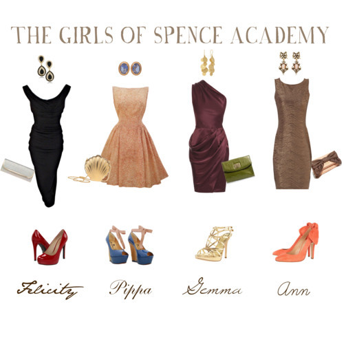 The Girls of Spence by piggyandme