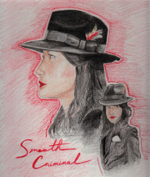 Really excited for Smooth Criminal and loved the promo images, so I made this.