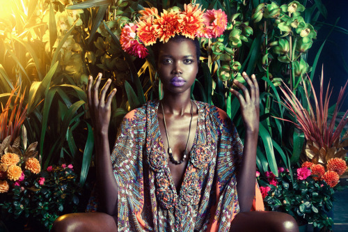 nykhor paul for mara hoffman resort 2012