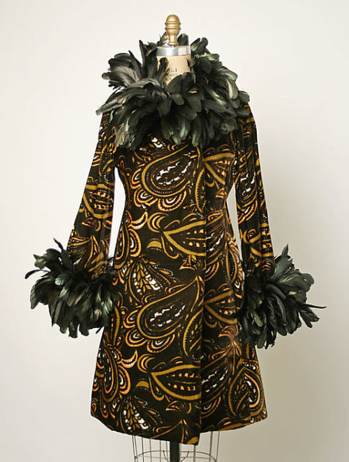 omgthatdress:  Coatdress Donald Brooks, 1968 The Metropolitan Museum of Art