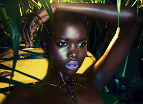 blackmagicwomen:   nykhor paul for mara hoffman resort 2012