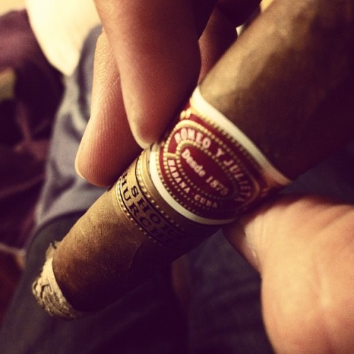 wtfitzjason:  #smoke #cigars Getting ready for Chinese New Year (Taken with instagram)