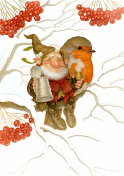 Winter Warmer….illustrated by Paul Kidby