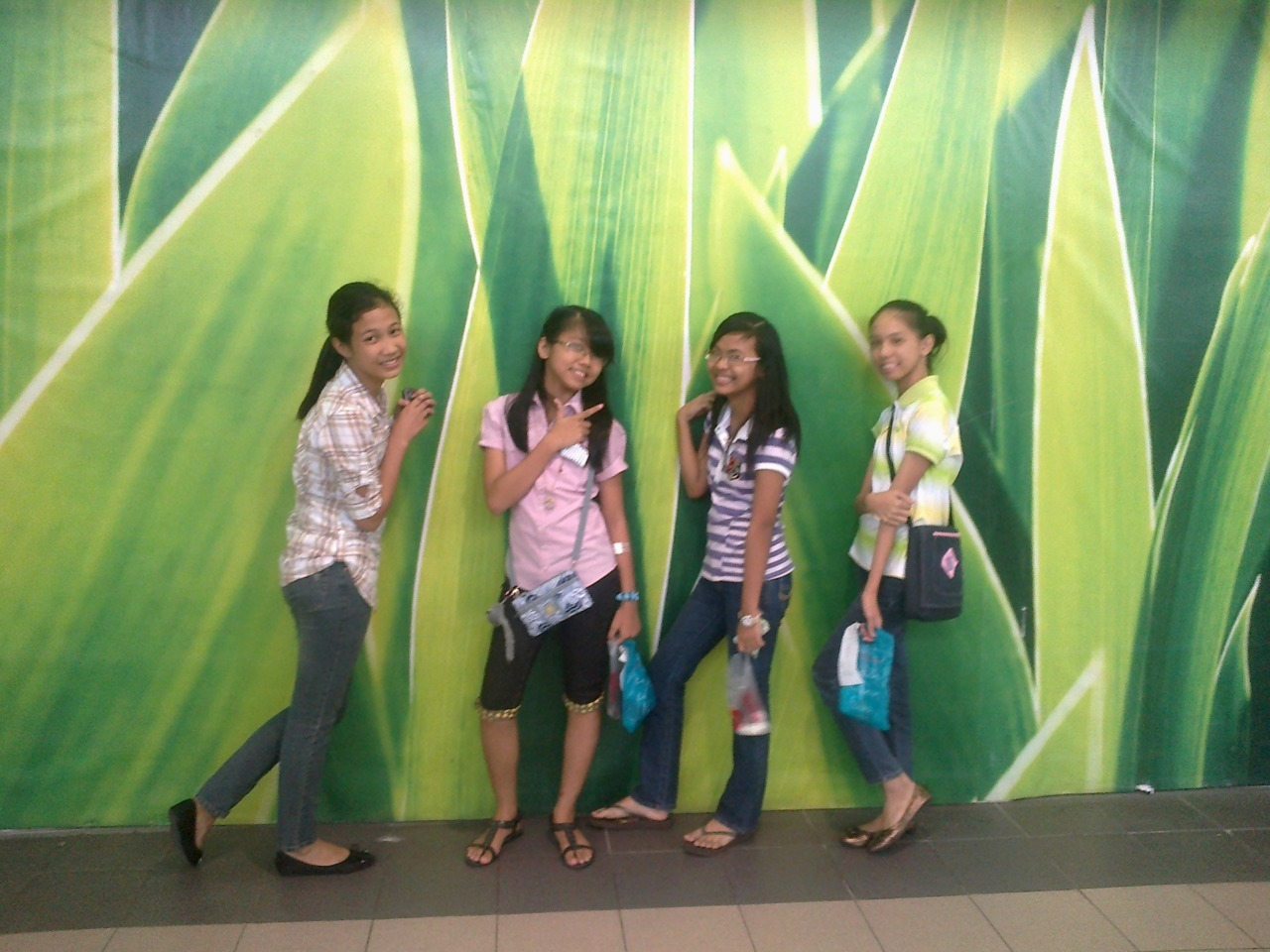 . . . at SM MARILAO  with my friends…