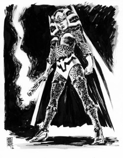 thehappysorceress:  Big Barda by JunBob Kim