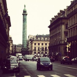 Morning Paris #pfw #attheshows #Paris (Taken with Instagram at Place Vendôme)