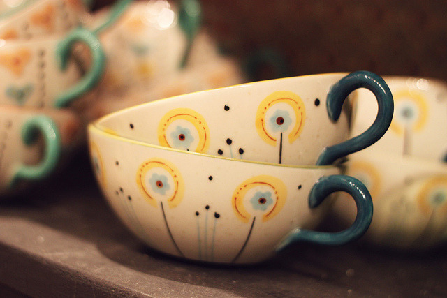little teacups by ginnerobot on Flickr.